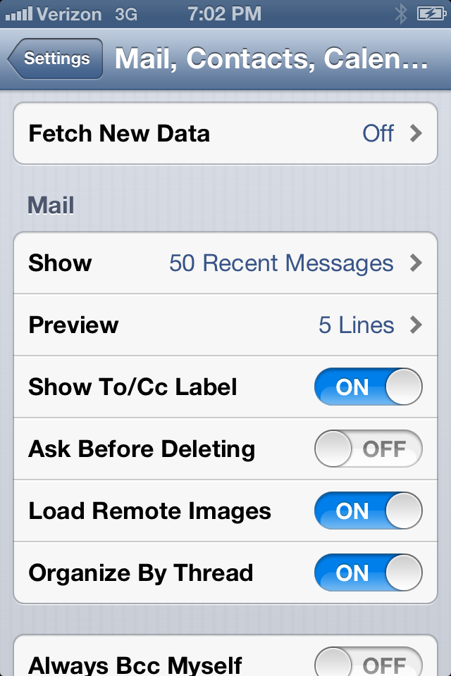 how to turn off push email on blackberry