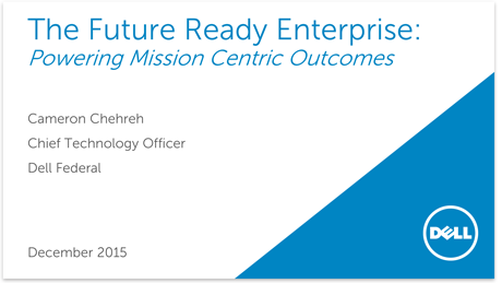 The Future Ready Enterprise Presentation